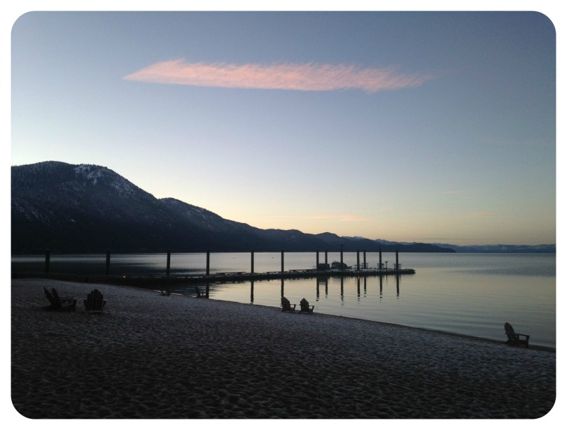 lake tahoe sunrise, thefirst2hours, nevada, justmeandthebirds
