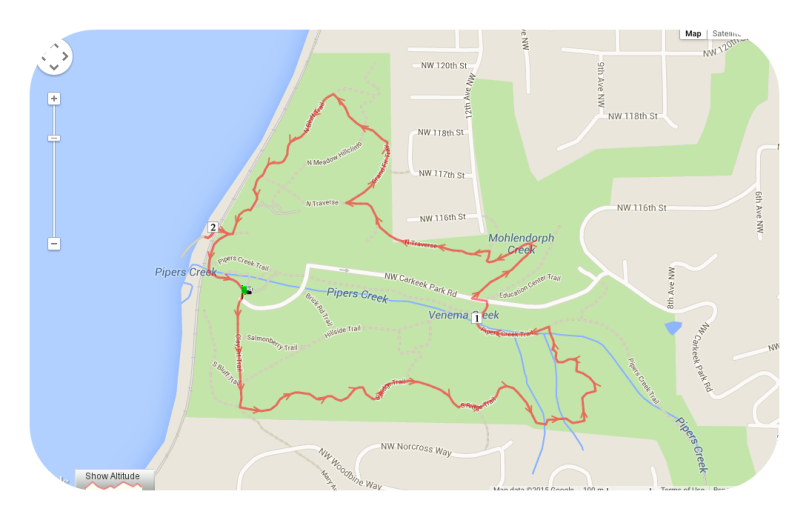 seattle, carkeek park, fitness, run, nature, trails, thefirst2hours