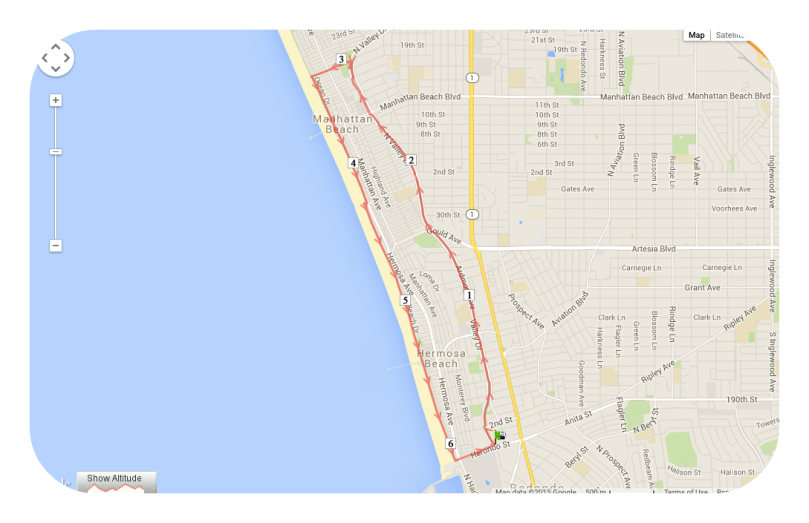 south bay, california, hermosa beach, manhattan beach, fitness, run, the strand, running trail, veteran's parkway