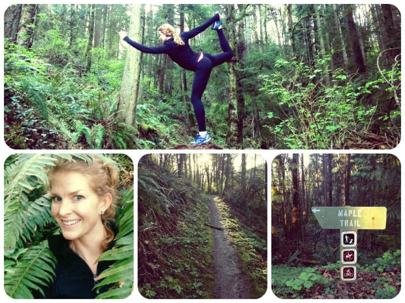 thefirst2hours, portland, oregon, forest park, nature, green, jungle, lululemon, yoga, yogi, yogini, yo yo yogi, maple trail, saltzman road, highway 30