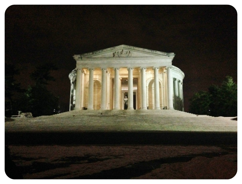 jefferson memorial, washington dc, tidal basin, dc, running, routes, district of columbia, thomas jefferson