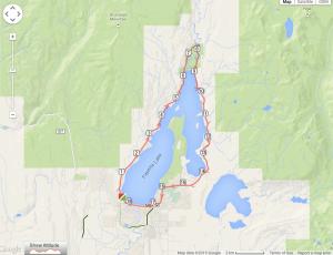 mccall, idaho, payette lake, trail map, running trail, biking trail, vizsla