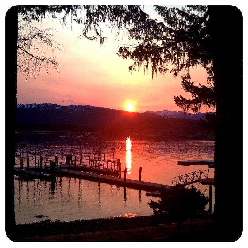 mccall idaho, sunrise, dawn, payette lake, mountains, travel, photography