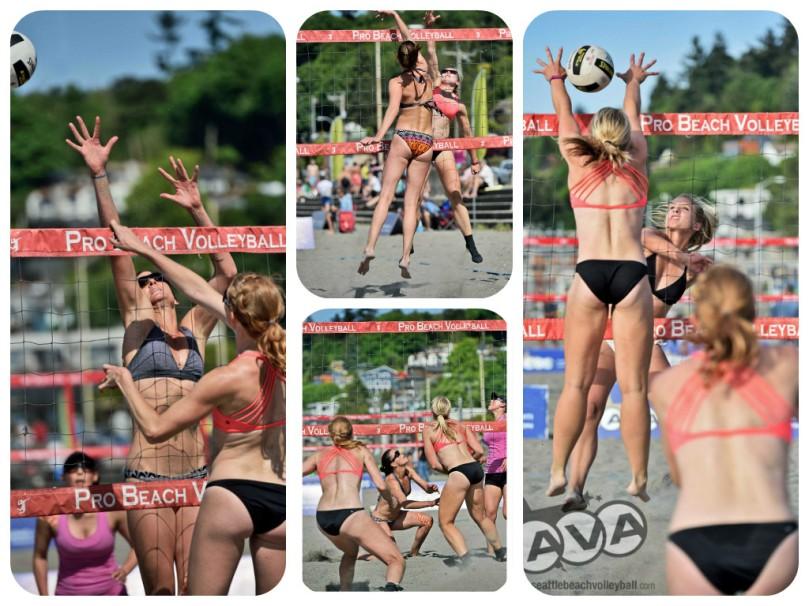 alki beach volleyball, vanessa latimer, breann crowell, grow the game, professional beach volleyball