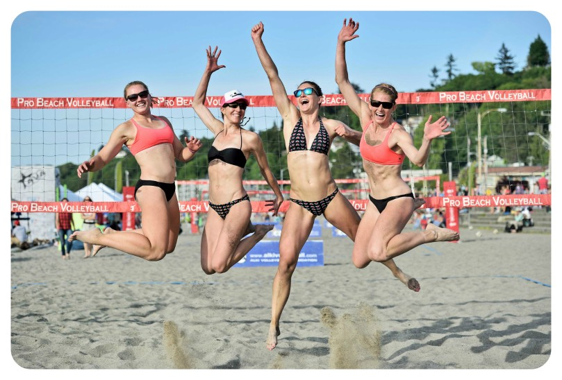 alki beach volleyball, professional beach volleyball, seattle, washington, thefirst2hours