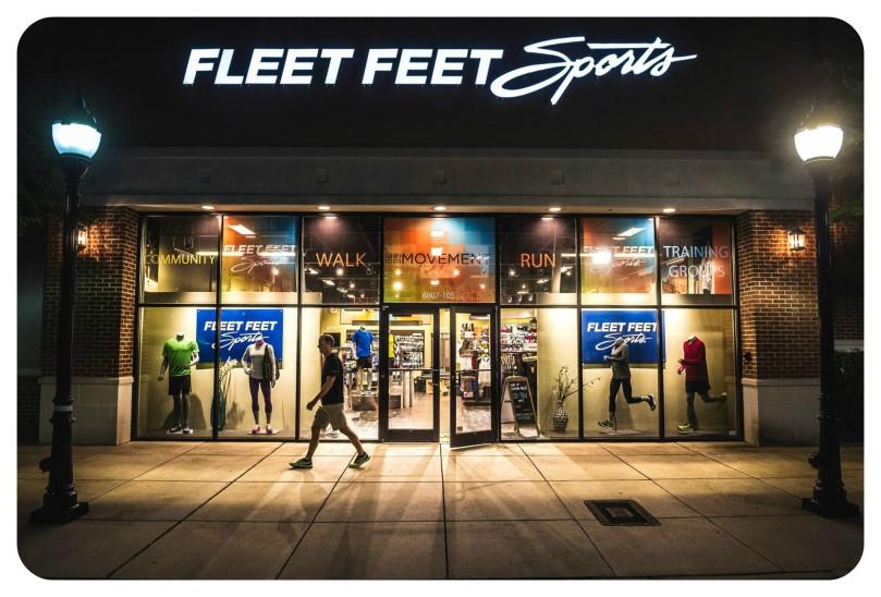 fleet feet sports store