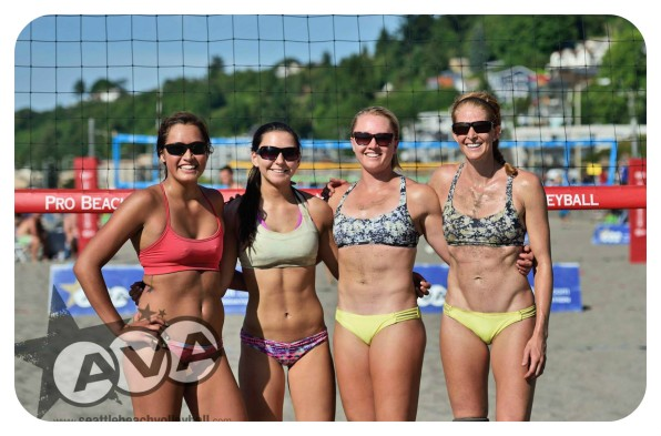 ncaa beach volleyball, university of washington, youth beach volleyball, club, seattle, alki beach volleyball