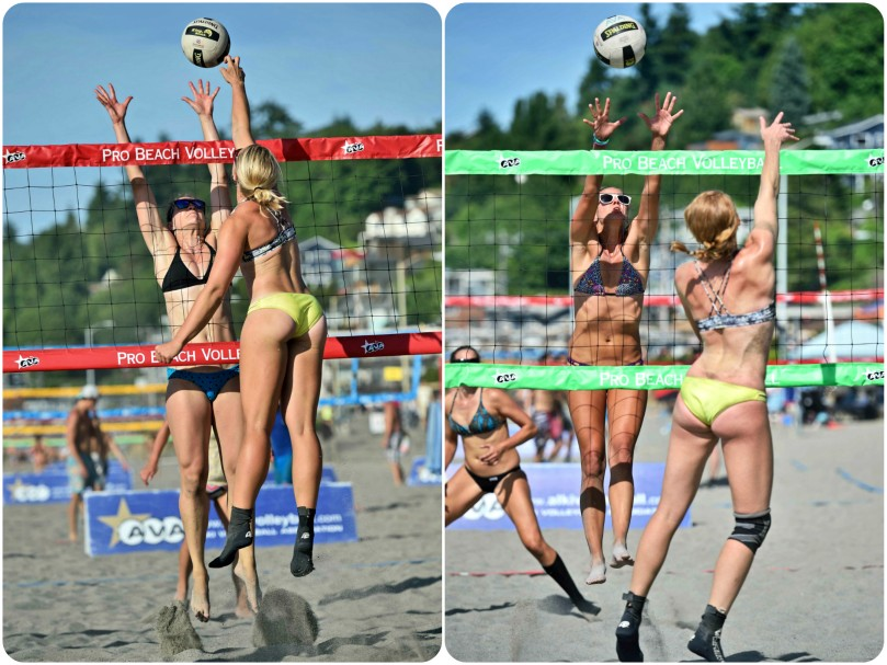 alki beach volleyball, professional beach volleyball, vanessa latimer, breann crowell, grow the game, nvl, avp, alki,