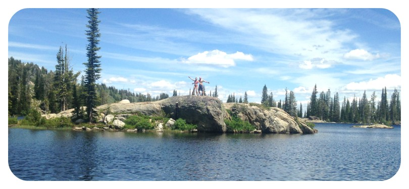family, hiking, mountain, mountain lake, lake, glacier, glacier water, cascade, idaho, adventure, travel, fitness, swimming, photography