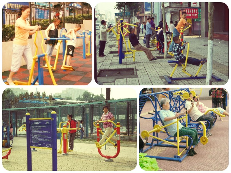 outdoor gyms, fitness, exercise, china, exercise equipment