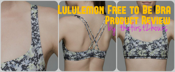 free to be bra, lululemon, yoga, sports bra, competition top, beach volleyball, lulu, fitness apparel, review, fitness attire