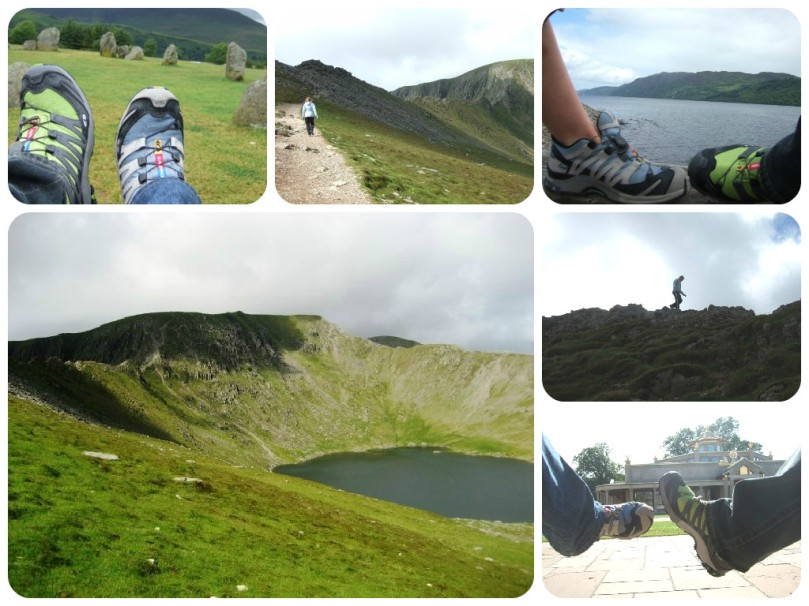 salomon trekking, hiking, ben nevis, scotland, irleand, lake district england