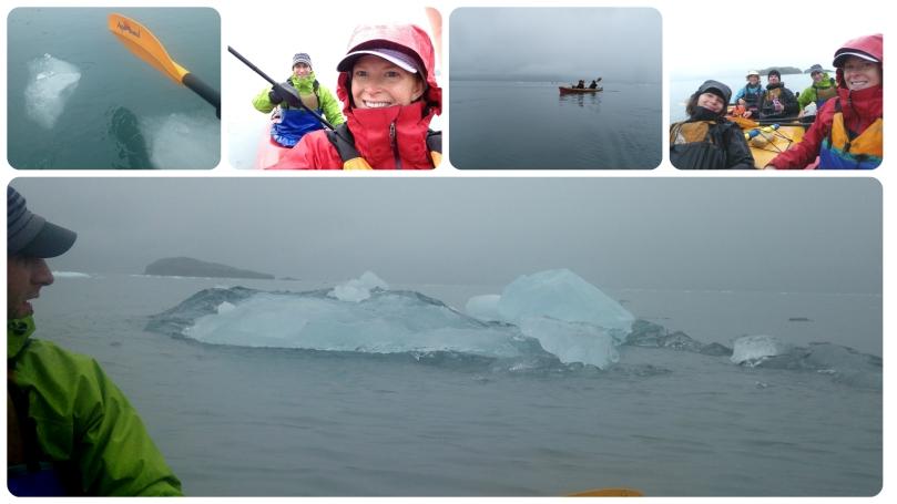 kayak adventures worldwide, alaska, seward, patagonia pilot jacket, travel, kenai fjords, glacier, aialik bay, honeymoon adventure