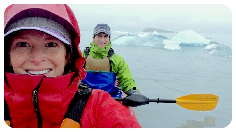 alaska, aialik bay, seward, kayak, glacier, waterproof, outdoor gear, adventure,