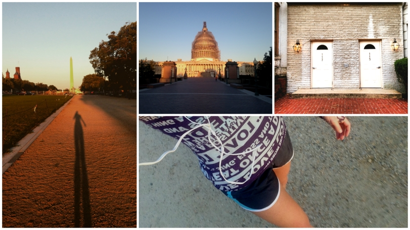 lululemon, nike, brooks, running in washington dc, national mall, running music, music, jamestown revival, thefirst2hours, fitness