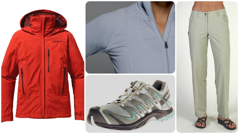 patagonia, salomon, product review, lulu lemon, exofficio,