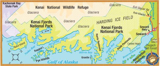 kenai fjords, harding ice field, seward alaska, resurrection bay, aialik bay, gulf of alaska, kayak, adventure