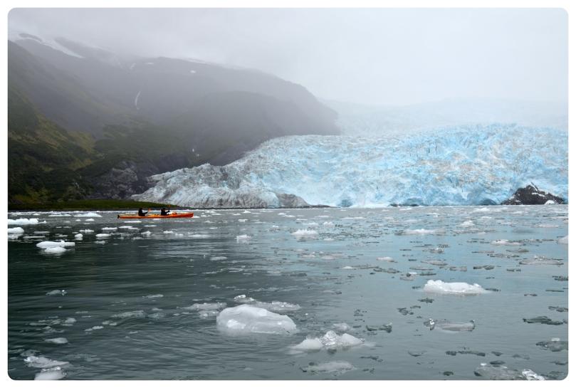 kenai fjord, aialik, glacier, harding ice field, alaska, honeymoon, adventure, kayak, live outdoors, fitness, thefirst2hours