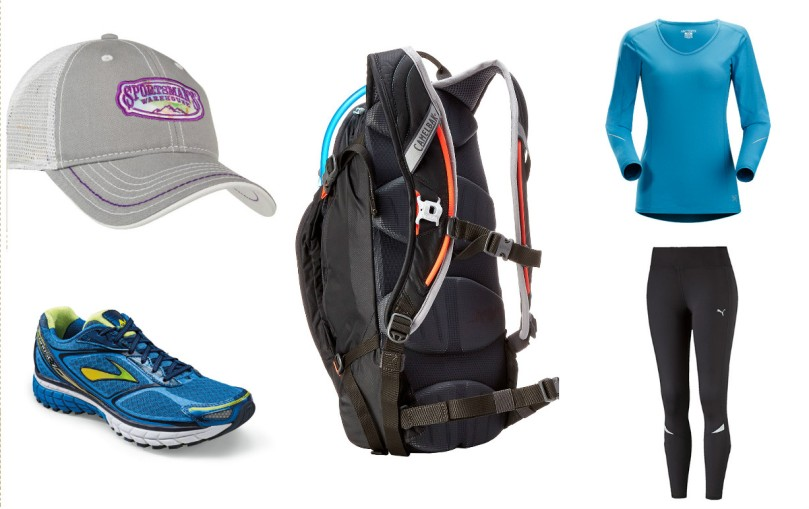camelbak, arcteryx, product review, gear finder, sportsman's warehouse, puma tights, leggings, brooks running, brooks ghost, hiking, backpacking, thefirst2hours